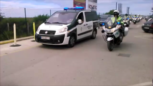 San Fernando (Cádiz) 2016/04/23 Guardia Civil Tráfico GP Motos Jerez