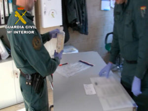 "Operación ""SPERANDIA"", Guardia Civil"